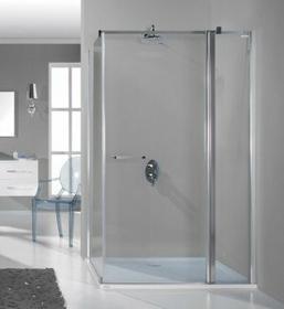 Sanplast Prestige 100 KNDJ2/PRIII-100 100x100 profil srebrny błyszczący szkło W0