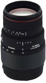 Sigma 70-300 f/4.0-5.6 APO DG Macro Sony