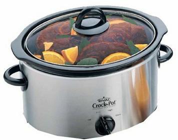 Crock-Pot 3,5l Brushed Chrome Slow Cooker 37401BC