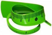 TETIS LINIJKA elastyczna 20cm zielona BL020ZB