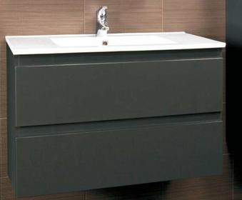 Deftrans Sp. z o.o. Szafka pod umywalkę Como D60 123-D-06008 grafit