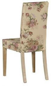 Dekoria Sukienka na krzesło harry krótka w kolekcji flowers