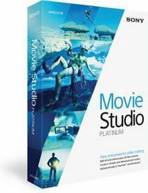 Sony Movie Studio Platinum 13 - Nowa licencja