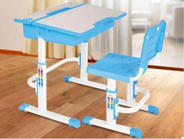 Halmar biurko ASTRO 2 zestaw niebieski
