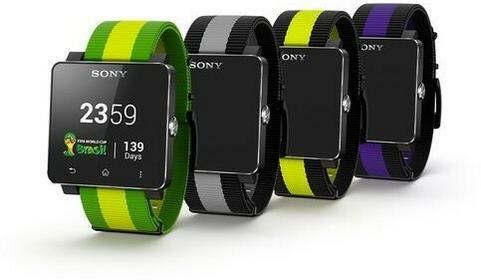Sony SmartWatch 2 Żółto-zielony