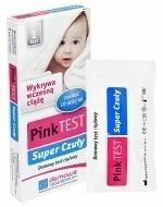 Hydrex Test ciążowy pink super czuły płytkowy 1 szt