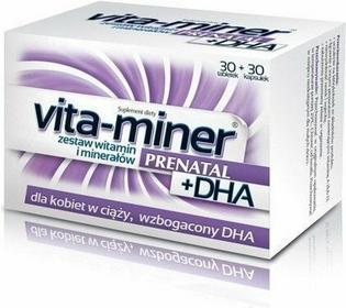 Aflofarm Vita-miner Prenatal DHA 30 szt. + 30zt.