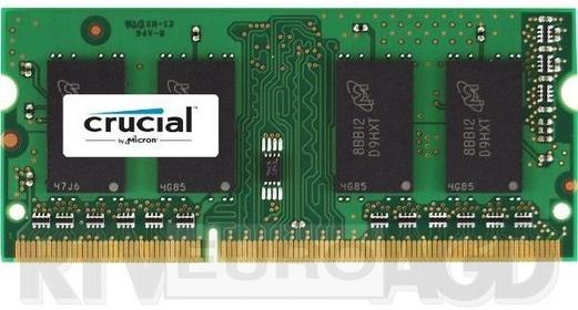 Crucial Pamięć do notebooków SODIMM DDR3L, 16GB, 1600MHz, CL11 CT204864BF160B