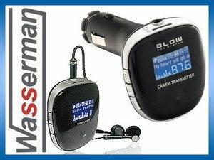 3w1 Transmiter  FM, odtwarzacz MP3, ładowarka Blow 74-125