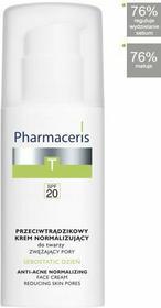 Pharmaceris T Sebostatic Przeciwtrądzikowy krem normalizujący do twarzy zwężający pory SPF20 50ml