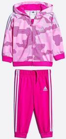 adidas Performance - Komplet dziecięcy 68-92 cm różowy AJ7361