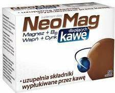 Aflofarm NeoMag dla pijących kawę 50 szt.