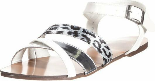 Enza Nucci sandały biały TDF2042
