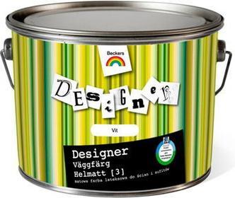 Beckers VIT - Designer Vaggfarg Helmatt [3] wodorozcieńczalna farba dyspersyjna Pełny Mat. - 10L 7551910010