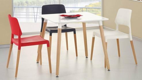 Halmar Zestaw Socrates KW + 4 krzesła K163