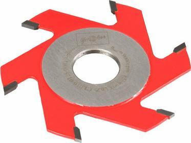 GLOBUS Frez prosty 125x30x10 mm CL010-0125-0005