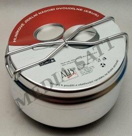 Import Menażka aluminiowa 2-częściowa 230