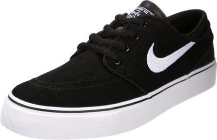 Nike SB STEFAN JANOSKI Tenisówki i Trampki black/white 525104