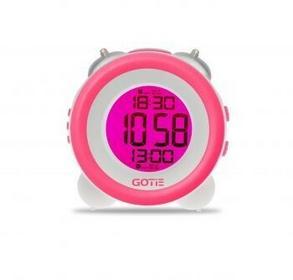 Budzik elektroniczny Gotie GBE-200 różowy
