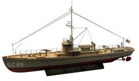 Model łodzie DUMAS - SC-1 CLASS SUB-CHASER Kit