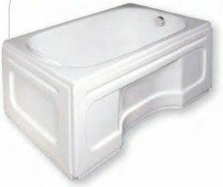 Polimat obudowa wanny Prostokątnej 110x70 00546