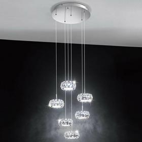 Eglo Zwis kryształowy LED 6pł CORLIANO 39008