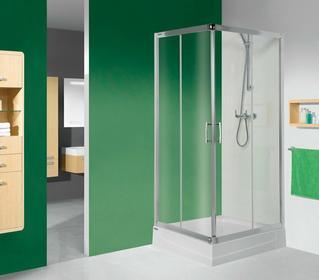 Sanplast Tx 5 KN/TX5-100 100x100 profil biały EW szkło W0