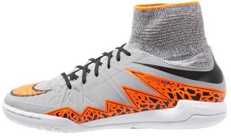 Nike Performance HYPERVENOMX PROXIMO IC Halówki wolf grey/total orange/black 747