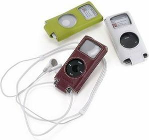TUCANO Luxa - Etui iPod Nano 2G (bordowy)