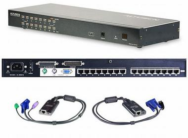 Aten KH-1516 KVM 16 High-Density Cat 5