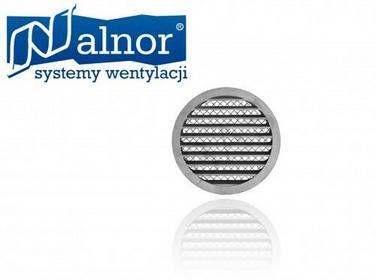 Alnor Czerpnia wyrzutnia ścienna aluminiowa 125mm (USAV-125) USAV-125