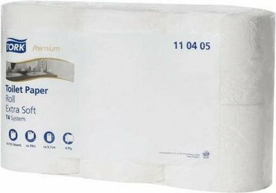 TORK Papier toaletowy w rolkach Premium biały ekstra miękki