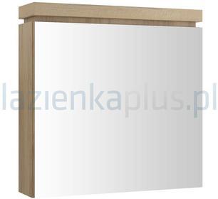 Cersanit Szafka łazienkowa wisząca z lustrem OLIVIA orzech S543 014