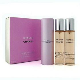 Chanel Chance woda toaletowa 3x20ml