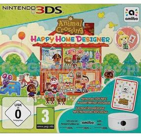 Animal Crossing Happy Home Designer + NFC Reader 3DS