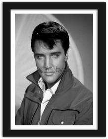 Feeby Elvis Presley, Obrazy w ramie - Czarny