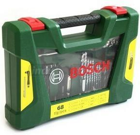 Bosch osprzęt V-line Wiertła oraz zestaw końcówek wkręcających z nożem, wskaźnik