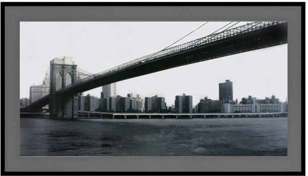 THK Czarno- biały Obraz Most 52x102