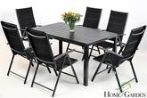 Home&Garden Meble Aluminiowe IBIZA Pollywood Black