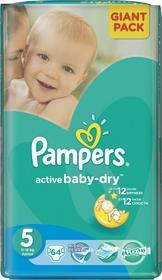 Pampers Active Baby 5 Junior 64 szt.