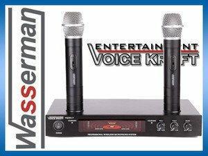Voice Kraft Zestaw mikrofonów bezprzewodowych VK9917