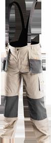 NEO-TOOLS Spodnie robocze na szelkach 6w1 rozmiar XXL 81-320-XXL