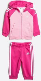 adidas Performance - Komplet dziecięcy 68-92 cm różowy AK2605