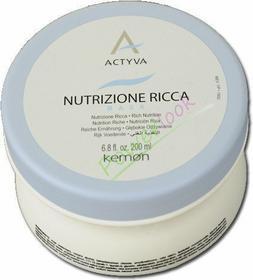 Kemon NUTRIZIONE RICCA Maska do włosów bardzo suchych, wrażliwych 200ml