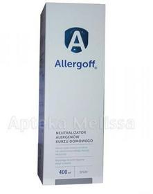 Icb Poland POLAND ALLERGOFF SPRAY Neutralizator alergenów kurzu domowego 400 ml 9075645
