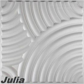 3d Elite Panels 1 m2, Panel 3D JULIA (50 x 50 cm)