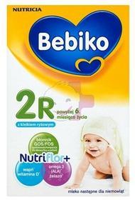Bebiko 12x 2R NutriFlor+ z kleikiem ryżowym 350g