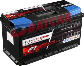 DIVINE 12V 100Ah 860A (EN) +P