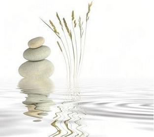 Spokój zen - Obraz, reprodukcja
