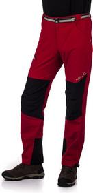 Milo Spodnie trekkingowe męskie Tacul - czerwony